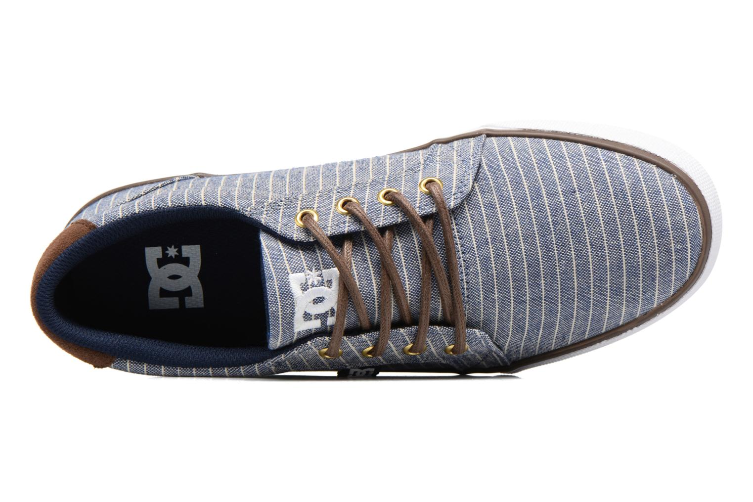Baskets DC Shoes Council Tx Le M Bleu vue gauche