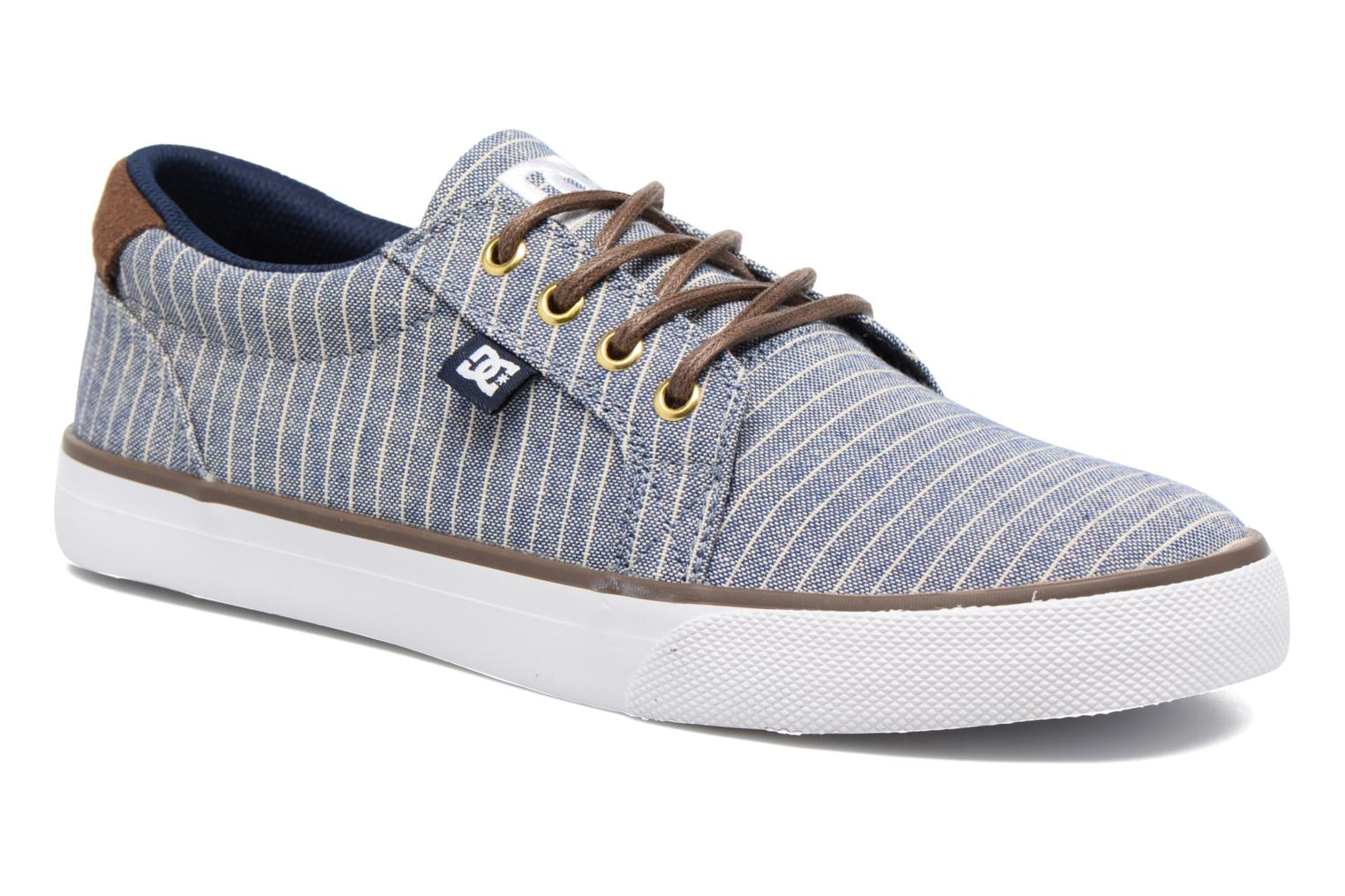 Baskets DC Shoes Council Tx Le M Bleu vue détail/paire