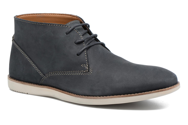 Clarks Franson Top (Bleu) - Bottines et boots chez Sarenza (285983)