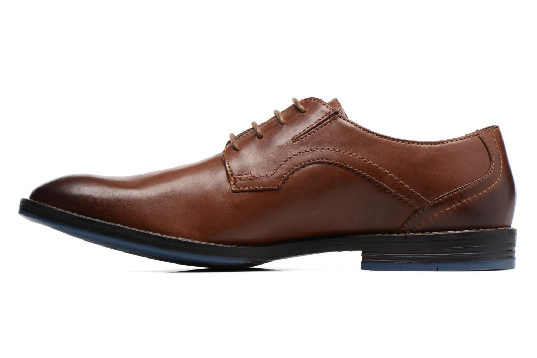 Zapatos con cordones Clarks Prangley Walk Marrón vista de frente