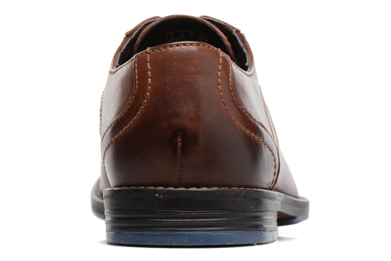 Zapatos con cordones Clarks Prangley Walk Marrón vista lateral derecha