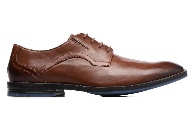 Chaussures à lacets Clarks Prangley Walk Marron vue derrière