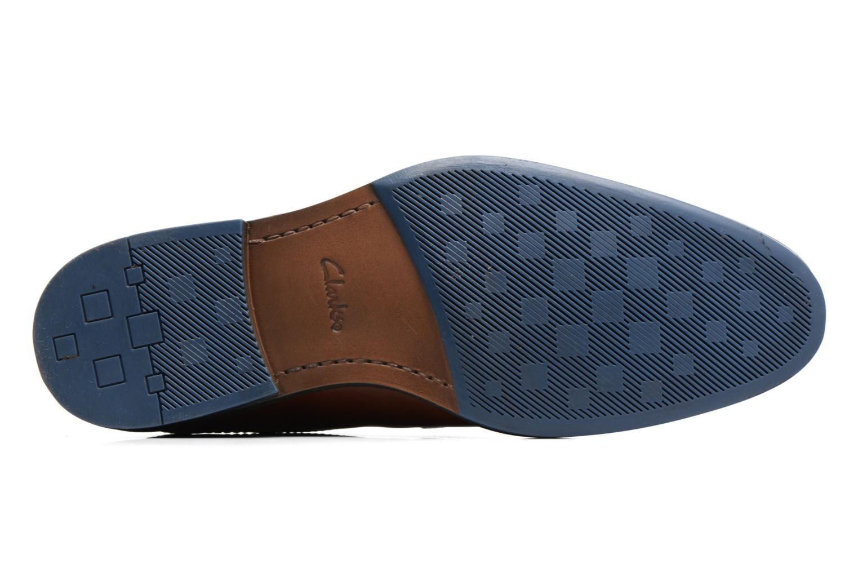 Chaussures à lacets Clarks Prangley Walk Marron vue haut