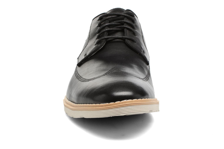 Chaussures à lacets Clarks Gambeson Style Noir vue portées chaussures