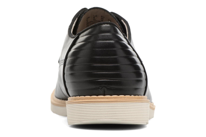 Chaussures à lacets Clarks Gambeson Style Noir vue droite