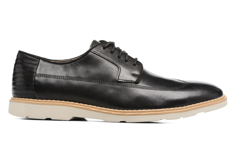 Chaussures à lacets Clarks Gambeson Style Noir vue derrière