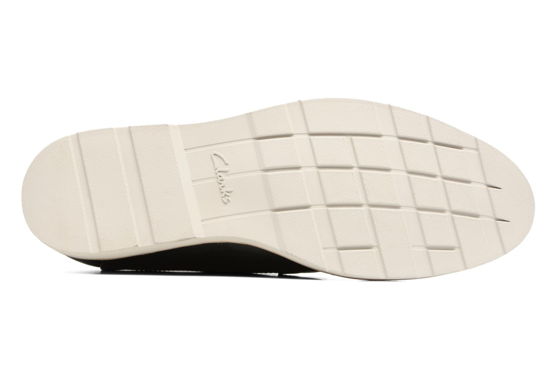 Chaussures à lacets Clarks Gambeson Style Noir vue haut