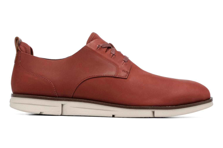 Chaussures à lacets Clarks Trigen Lace Rouge vue derrière