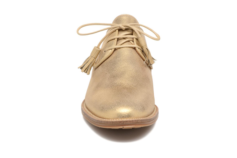Schnürschuhe Schmoove Woman Newton Derby gold/bronze schuhe getragen