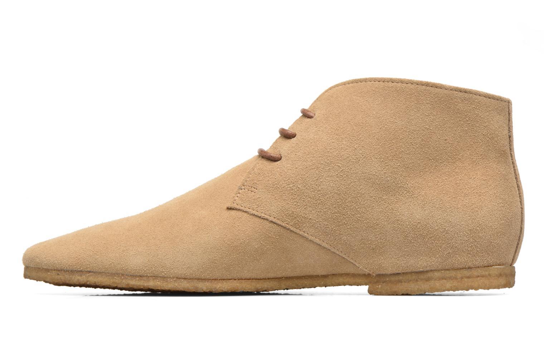 Chaussures à lacets Schmoove Creps Desert Beige vue face