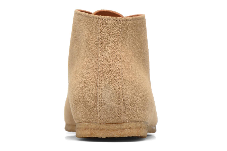 Chaussures à lacets Schmoove Creps Desert Beige vue droite