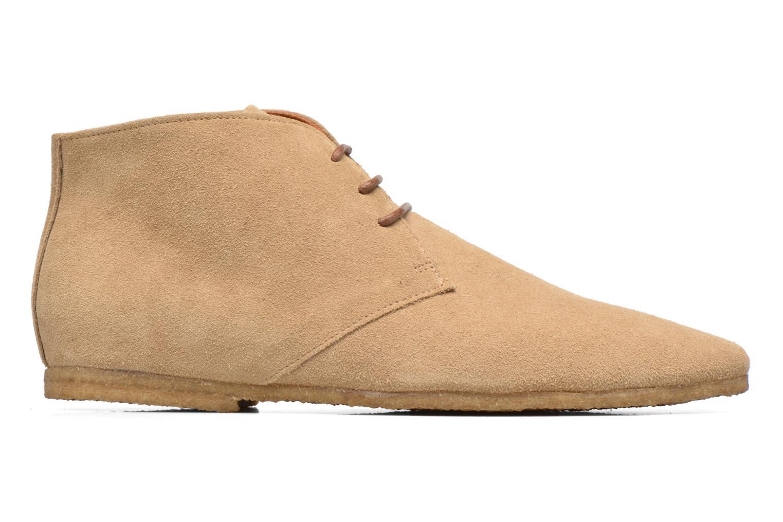 Chaussures à lacets Schmoove Creps Desert Beige vue derrière