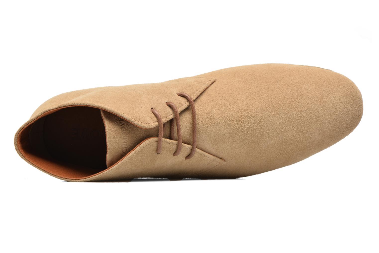 Chaussures à lacets Schmoove Creps Desert Beige vue gauche