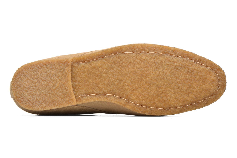 Chaussures à lacets Schmoove Creps Desert Beige vue haut