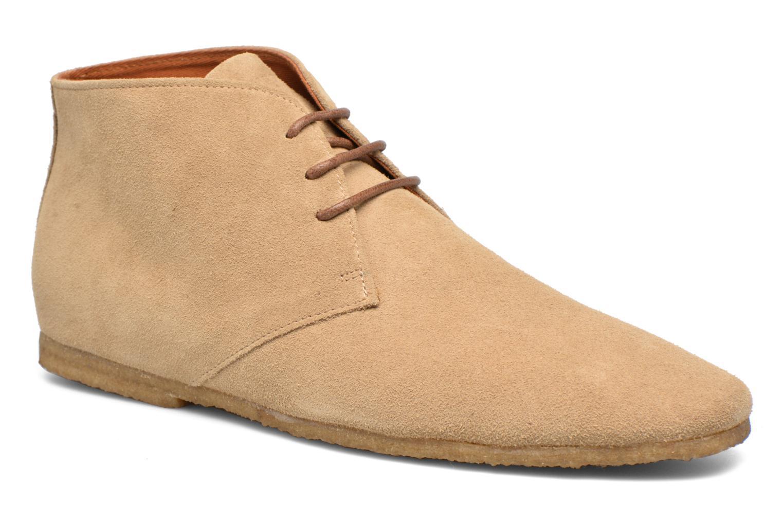 Chaussures à lacets Schmoove Creps Desert Beige vue détail/paire