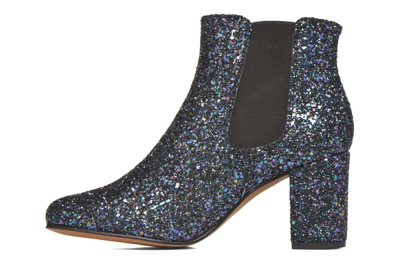 Bottines et boots Anaki Angèle Bleu vue face