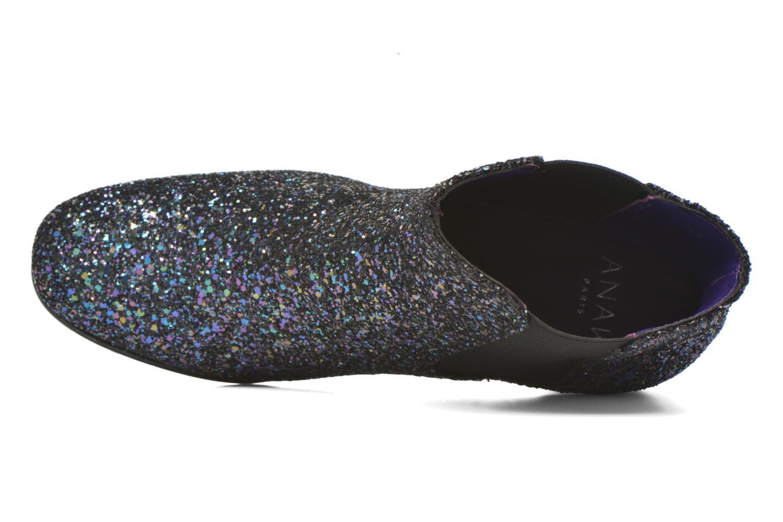 Bottines et boots Anaki Angèle Bleu vue gauche
