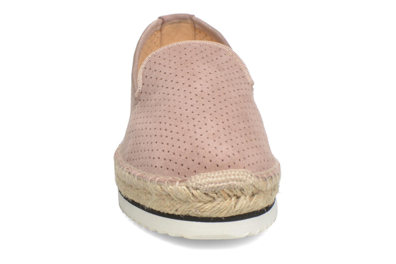 Espadrilles Anaki Malibu Rose vue portées chaussures