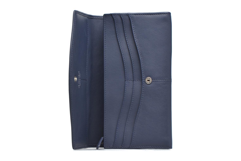 Wallets & cases Le Tanneur VALENTINE Porte-monnaie long anti-RFID Blue back view