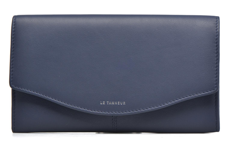 Wallets & cases Le Tanneur VALENTINE Porte-monnaie long anti-RFID Blue view from the left