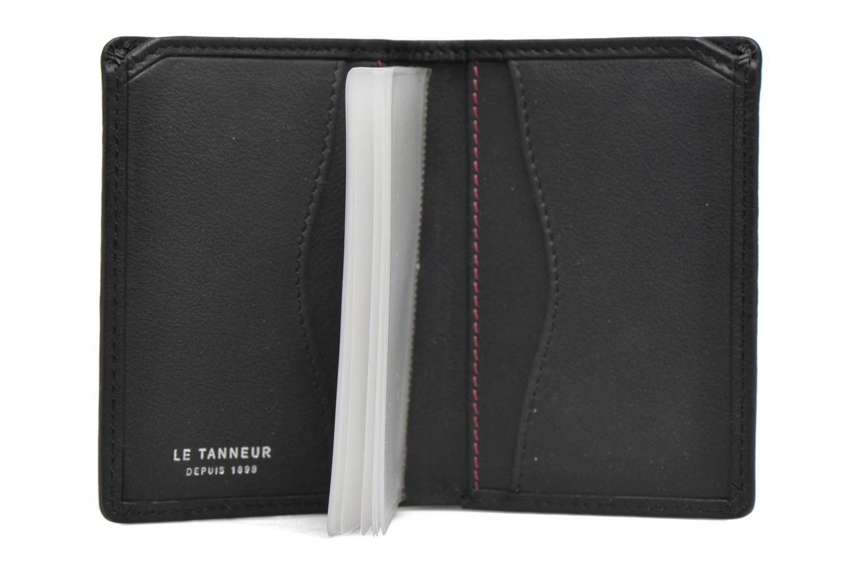 Kleine lederwaren Le Tanneur VALENTINE Porte-cartes anti-RFID Zwart achterkant