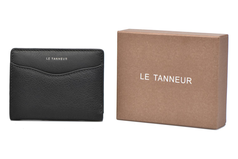 Kleine lederwaren Le Tanneur VALENTINE Porte-cartes anti-RFID Zwart detail