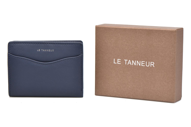 Marroquinería pequeña Le Tanneur VALENTINE Porte-cartes anti-RFID Azul vista de detalle / par