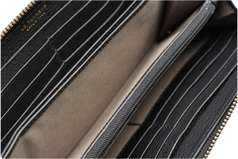 CAPUCINE Porte-monnaie long zippé Noir