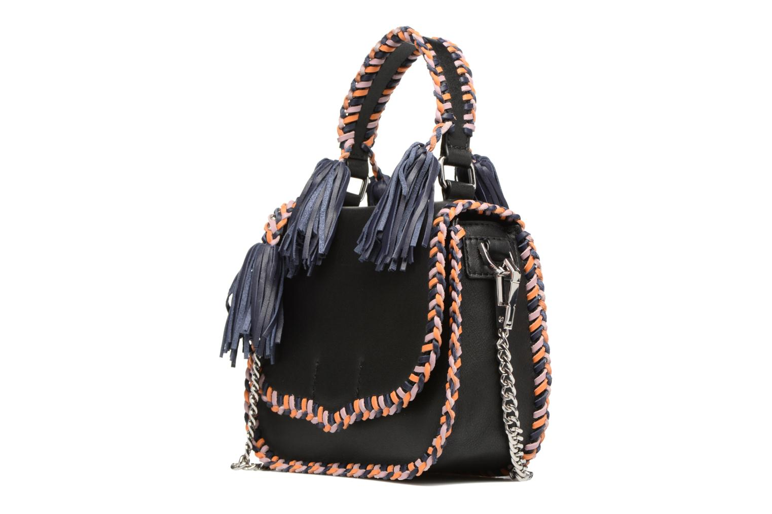 CHASE MEDIUM SADDLE BAG BLACK MULTI 002