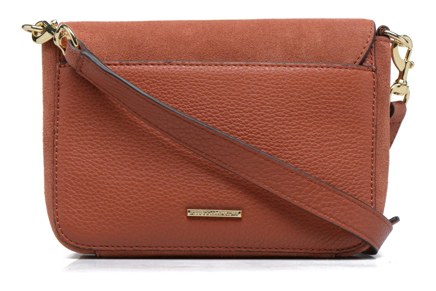 Sacs à main Rebecca Minkoff RAPTURE SMALL SHOULDER BAG Marron vue face