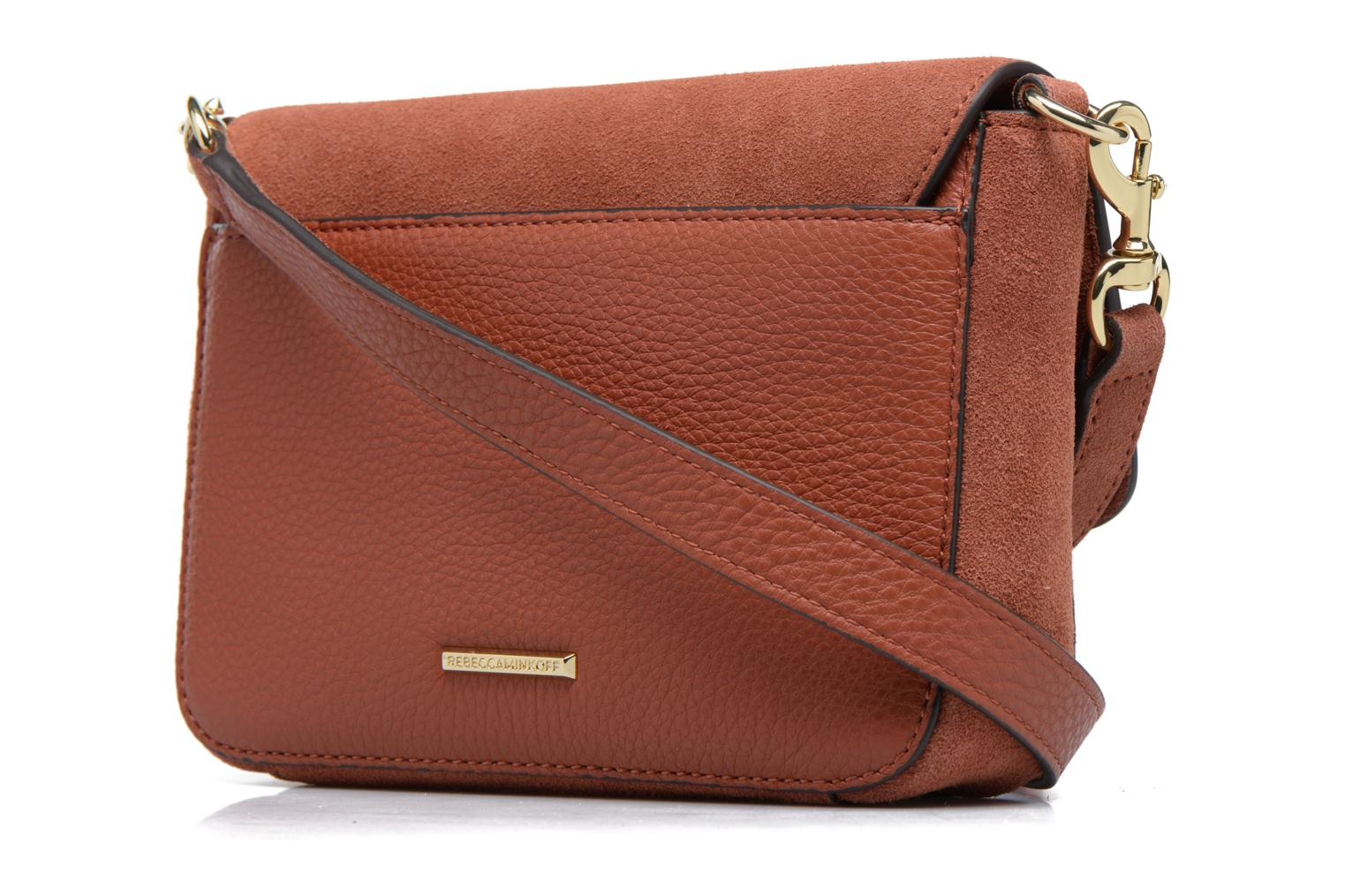 Sacs à main Rebecca Minkoff RAPTURE SMALL SHOULDER BAG Marron vue droite