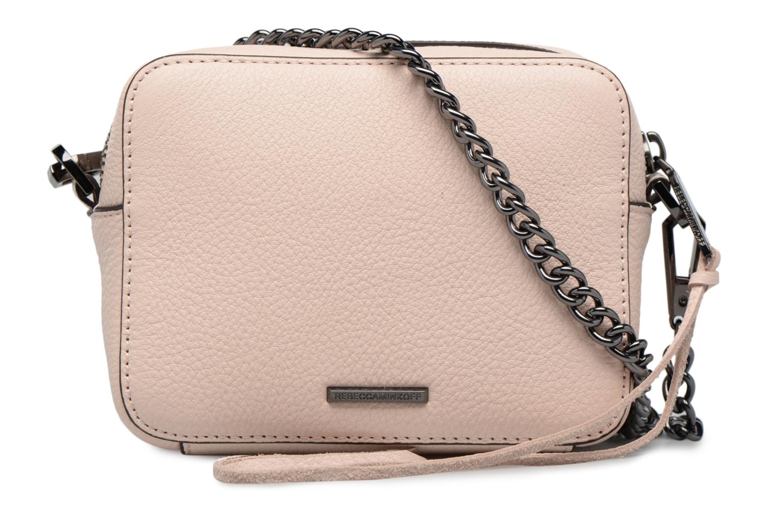 Handbags Rebecca Minkoff 4 ZIP MOTO CAMERA BAG Pink front view