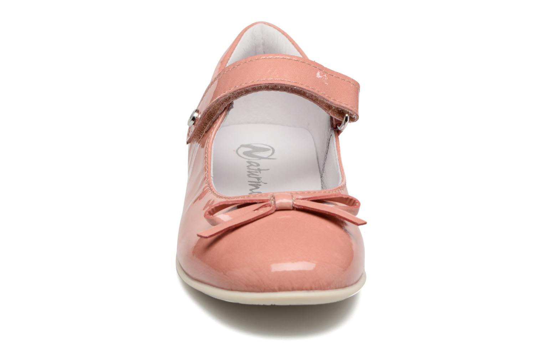 Ballerines Naturino Alissa 4524 Rose vue portées chaussures