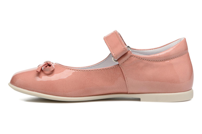 Ballerinas Naturino Alissa 4524 rosa ansicht von vorne