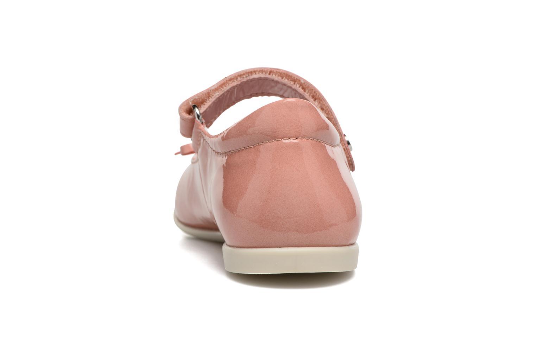 Ballerinas Naturino Alissa 4524 rosa ansicht von rechts