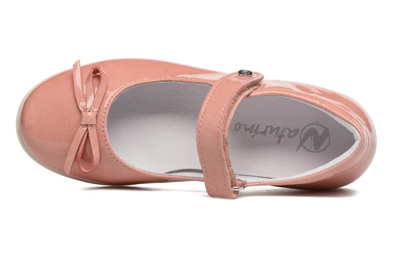 Ballerinas Naturino Alissa 4524 rosa ansicht von links