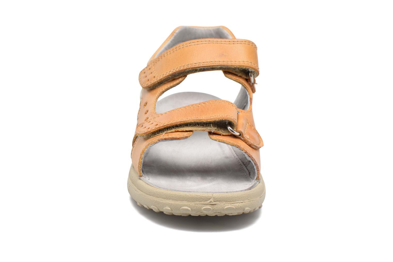 Sandales et nu-pieds Naturino Angelo 56775 Jaune vue portées chaussures