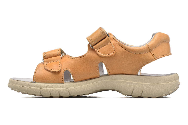 Sandales et nu-pieds Naturino Angelo 56775 Jaune vue face