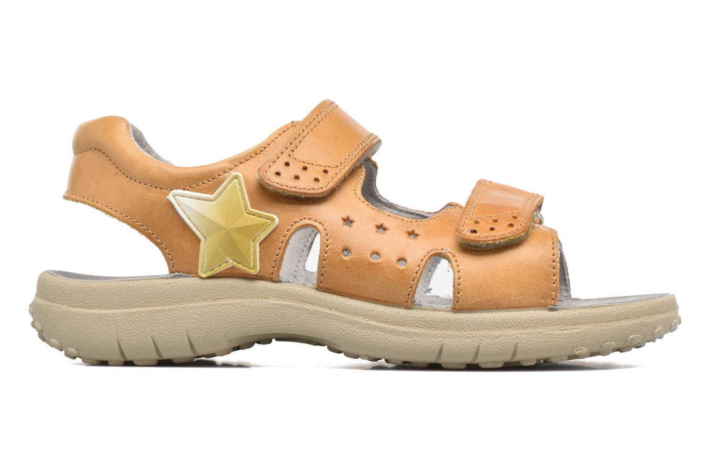 Sandales et nu-pieds Naturino Angelo 56775 Jaune vue derrière