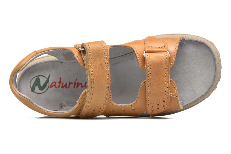 Sandales et nu-pieds Naturino Angelo 56775 Jaune vue gauche