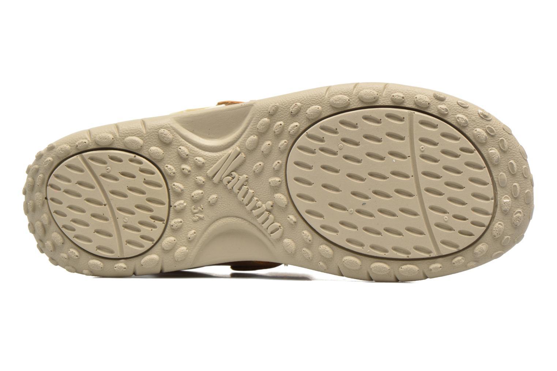 Sandales et nu-pieds Naturino Angelo 56775 Jaune vue haut