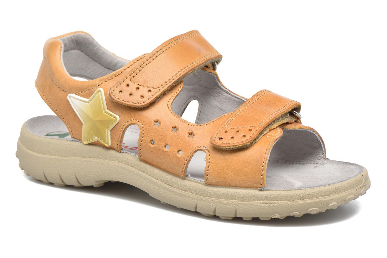 Sandales et nu-pieds Naturino Angelo 56775 Jaune vue détail/paire