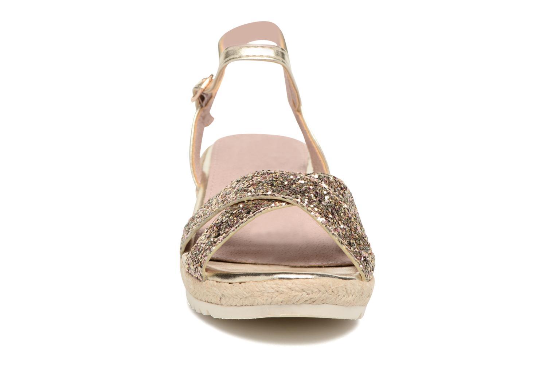 Sandales et nu-pieds Xti Aldana Or et bronze vue portées chaussures