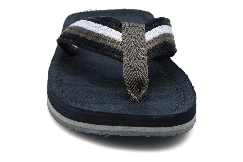 Tongs Xti Andio Bleu vue portées chaussures