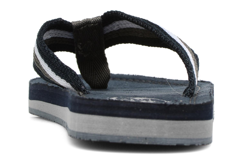 Chanclas Xti Andio Azul vista lateral derecha
