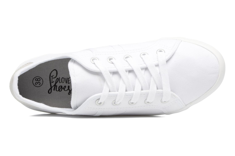 Sneaker I Love Shoes GOLCAN weiß ansicht von links