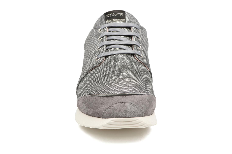 Baskets Unisa Bomba Argent vue portées chaussures