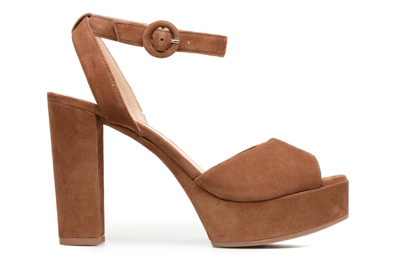 Sandali e scarpe aperte Unisa Venta Marrone immagine posteriore