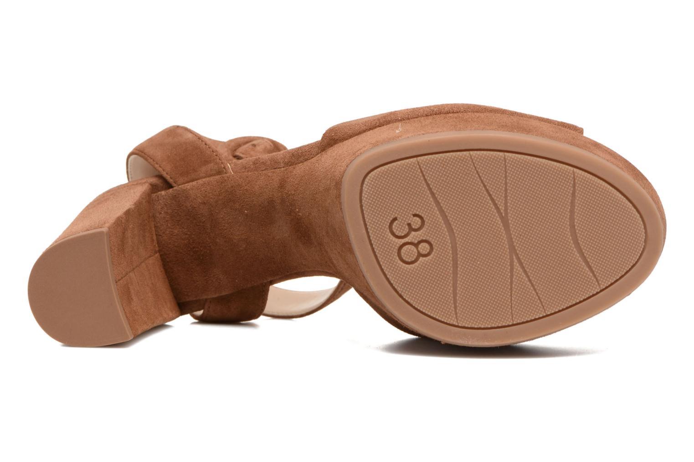 Sandali e scarpe aperte Unisa Venta Marrone immagine dall'alto