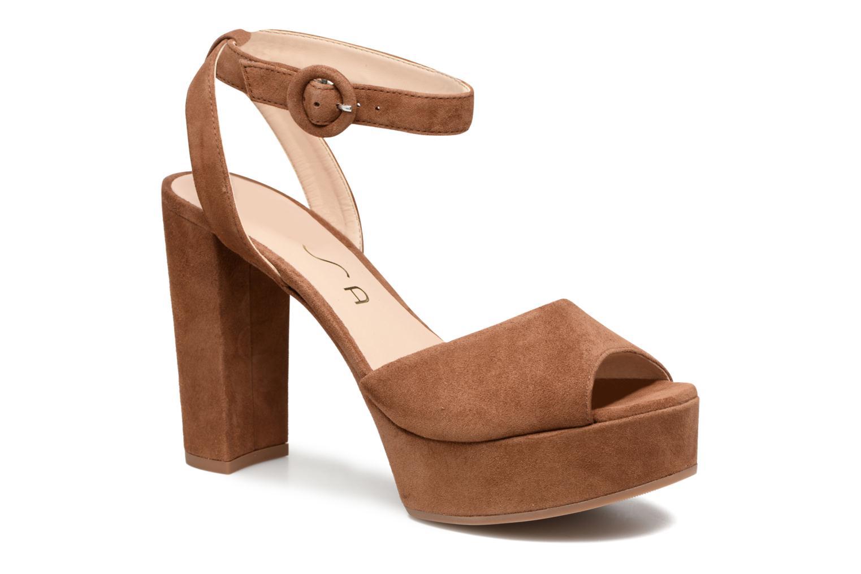 modelo más vendido de la marcaUnisa Venta (Marrón) - Sandalias en Más cómodo